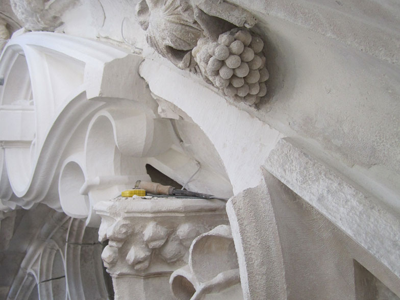 restauration taille de pierre